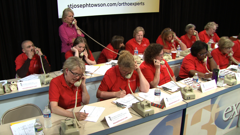 The Phone Bank for University of Maryland's Ask the Expert