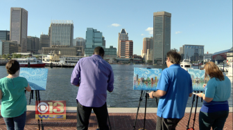 Inner Harbor Painting